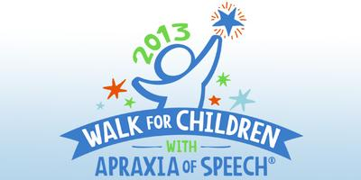 Walk for Children with Apraxia of Speech