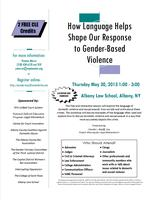 How Language Helps Shape Our Response to Gender-Based...