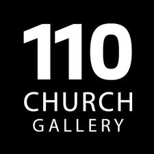 110 CHURCH | gallery, heavybubble logo