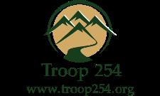 BSA Troop 254 logo