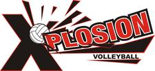Xplosion Volleyball Club logo