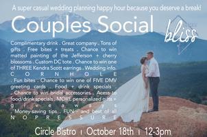District Bliss DC ı Couples Social, A Laid-back...