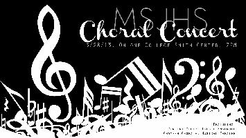 MSJHS Choral Spring Concert