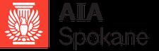 AIA Spokane logo