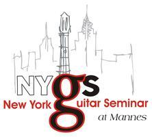 13th NEW YORK GUITAR SEMINAR AT MANNES REGISTRATION &...
