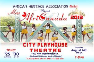 15th Annual Miss AfriCanada Pageant