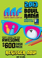AAF-CC presents Totally Rad 80s themed Bowl-A-Rama
