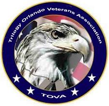 Trilogy Orlando Veterans Association (TOVA) logo