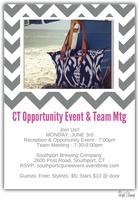 Southport CT Opportunity Event & Team Meeting - Mon. June 3rd