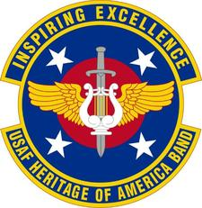 U.S. Air Force Heritage of America Band logo