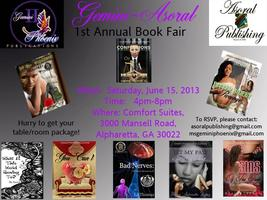 Gemini-Asoral 1st Annual Book Fair