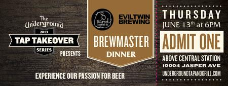 8 WIRED & EVILTWIN BREWMASTER DINNER