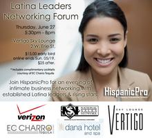 LATINA LEADERS NETWORKING FORUM