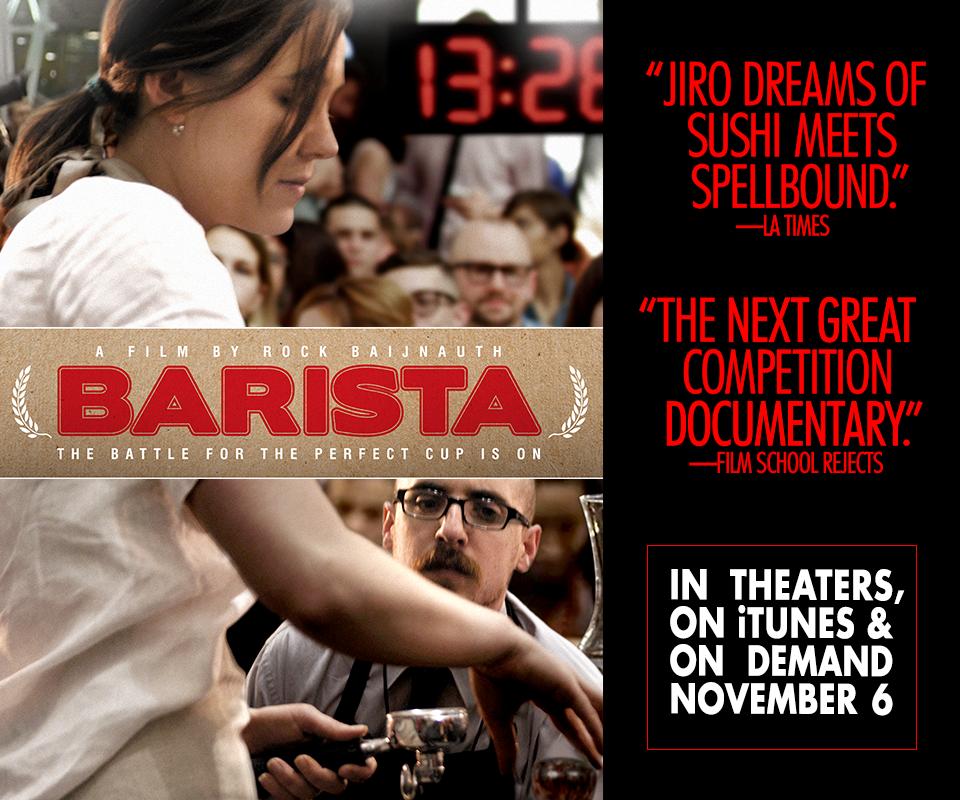 screening of barista the movie