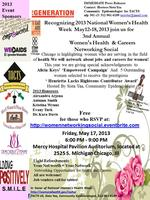 3rd Annual Women's Health Careers Networking Social