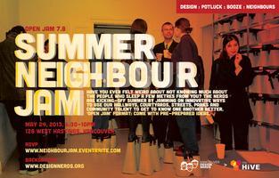 Design Nerd Jam | 7.8 Summer Neighbour Jam