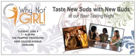 Taste New Suds with New Buds at our Beer Tasting Night