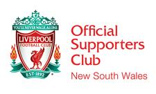 Official Liverpool Supporters Club of NSW logo