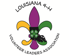 Sponsored by the Volunteer Leader Association and Louisiana 4-H Youth Development Department logo