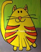 THE CAT-10am start -SATURDAY MORNING PAINTING AND  PIZZA CLASS
