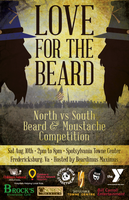 """Love For The Beard"" North vs South Beard and Moustache..."