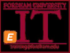 Fordham University | Technology Training logo