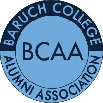 "Bernard M. Baruch College Alumni Association, Incorporated (the ""BCAA"") logo"