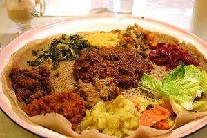 Ethiopian Ethnic Lunch