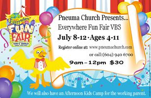 Pneuma Church: Everywhere Fun Fair VBS