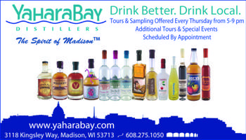 Yahara Bay Distillers Public House (Free Tours/Sampling)