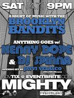 Tickets at the box office at 9pm for Anything Goes w/ KENNY...