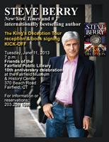 STEVE BERRY: The King's Deception Tour Reception & Book signing...