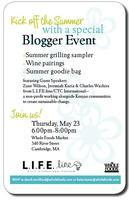 Summer Blogger Party with L.I.F.E.Line and Whole Foods Market