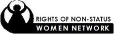 Rights of Non-Status Women's Network logo