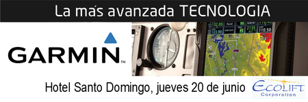 GARMIN LIDER GLOBAL EN ELECTRONICA DE AVIACION