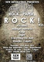 New Revolution Presents: Rock, Paper, ROCK! #25