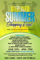 STEP INTO SUMMER SHOPPING EVENT