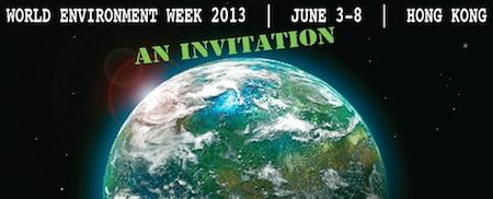 World Environment Week: June 3-8, 2013