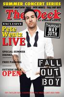 Fall Out Boy | Pete Wentz Live 5.30.13 | The Deck Harbor Pointe |