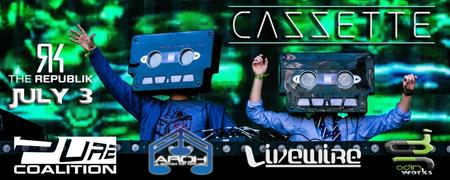 CAZZETTE & LAZY RICH | July 3rd | Honolulu