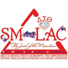 The Stone Mountain-Lithonia Alumnae Chapter of Delta Sigma Theta Sorority, Inc. logo