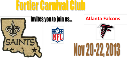 New Orleans Saints  vs Atlanta Falcons Bus Ride  Nov...