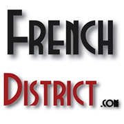 French District logo