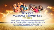 Triangle Marriage and Family Life Center logo