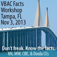 Tampa VBAC Facts Workshop with Jen Kamel