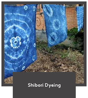 Shibori Dyed Tank Top