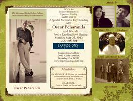 A Special Memorial Day Reading with Oscar Peñaranda & Friends