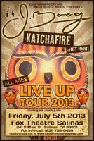 J Boog + Katchafire + special guest Aaradhna and Hot...