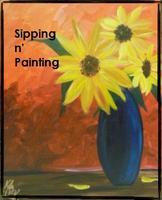 Sip N' Paint Sunflowers Thur May 24th 6pm