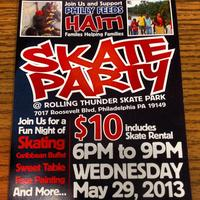 Philly Feeds Haiti - Skate Party
